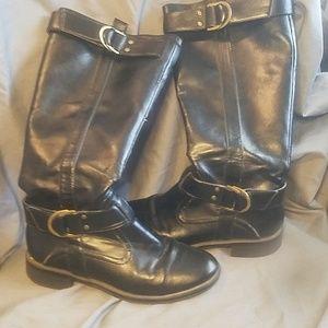 Aerosoles calf boots size 6
